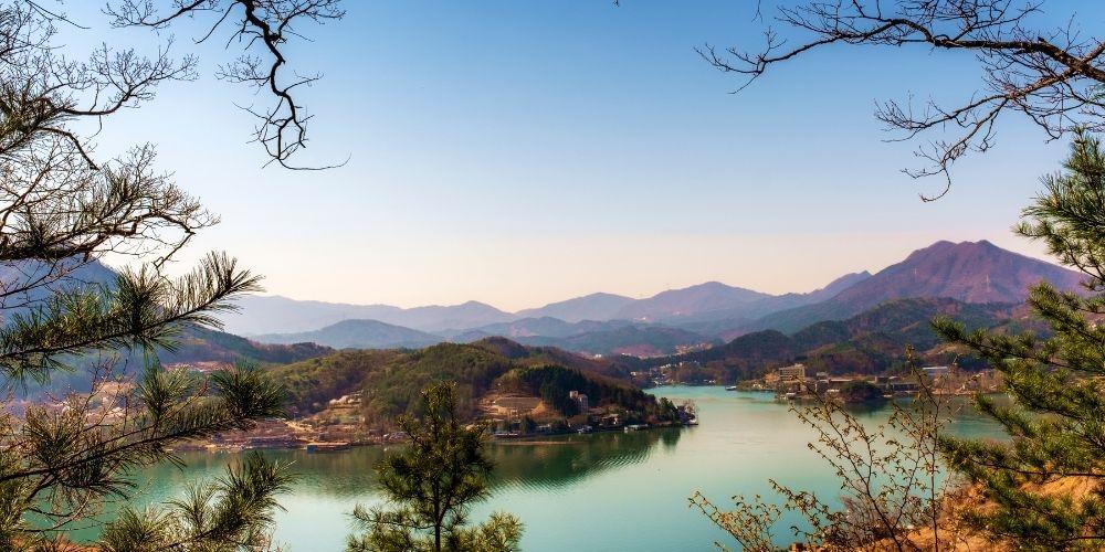 South Korea hiking trails