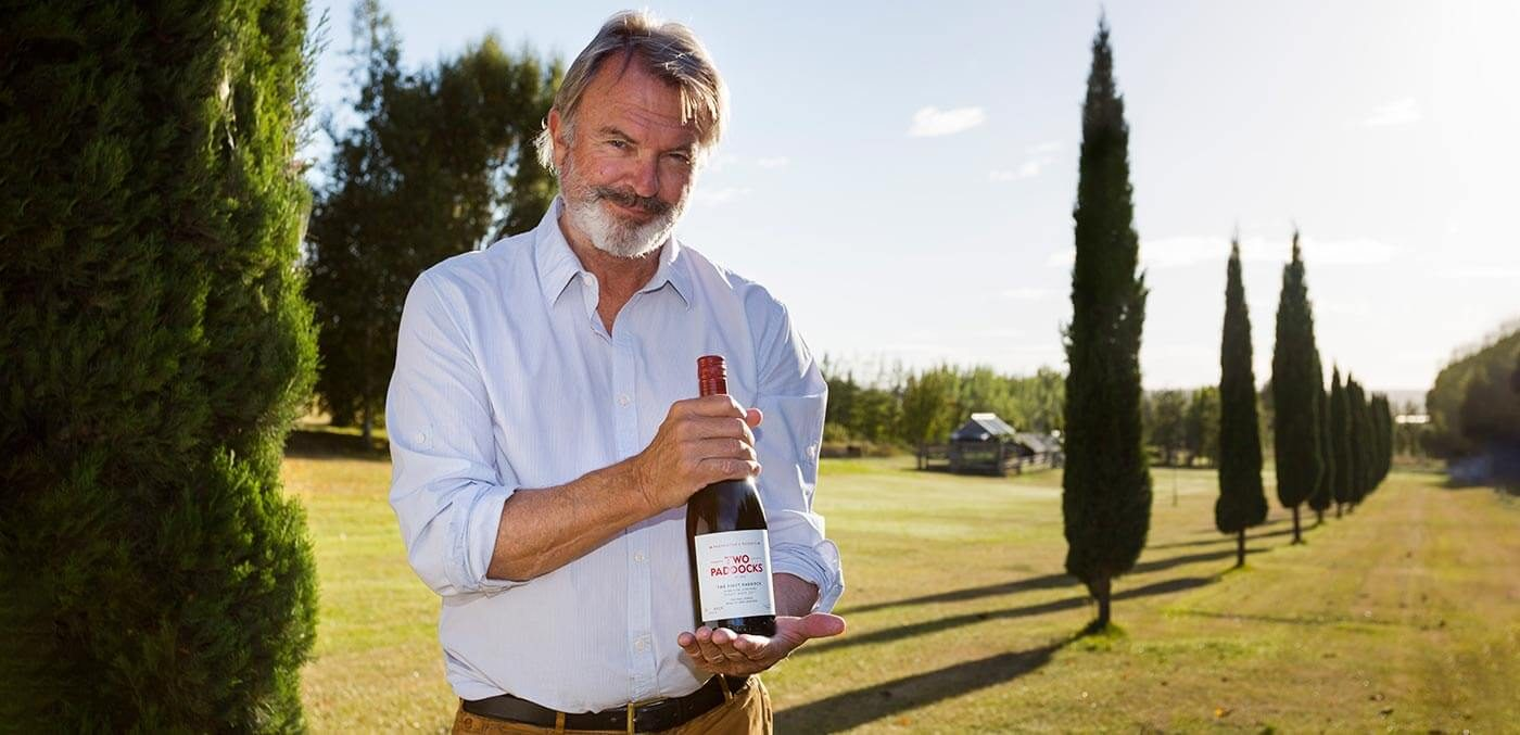 Sam Neill has been making wine in New Zealand since 1993