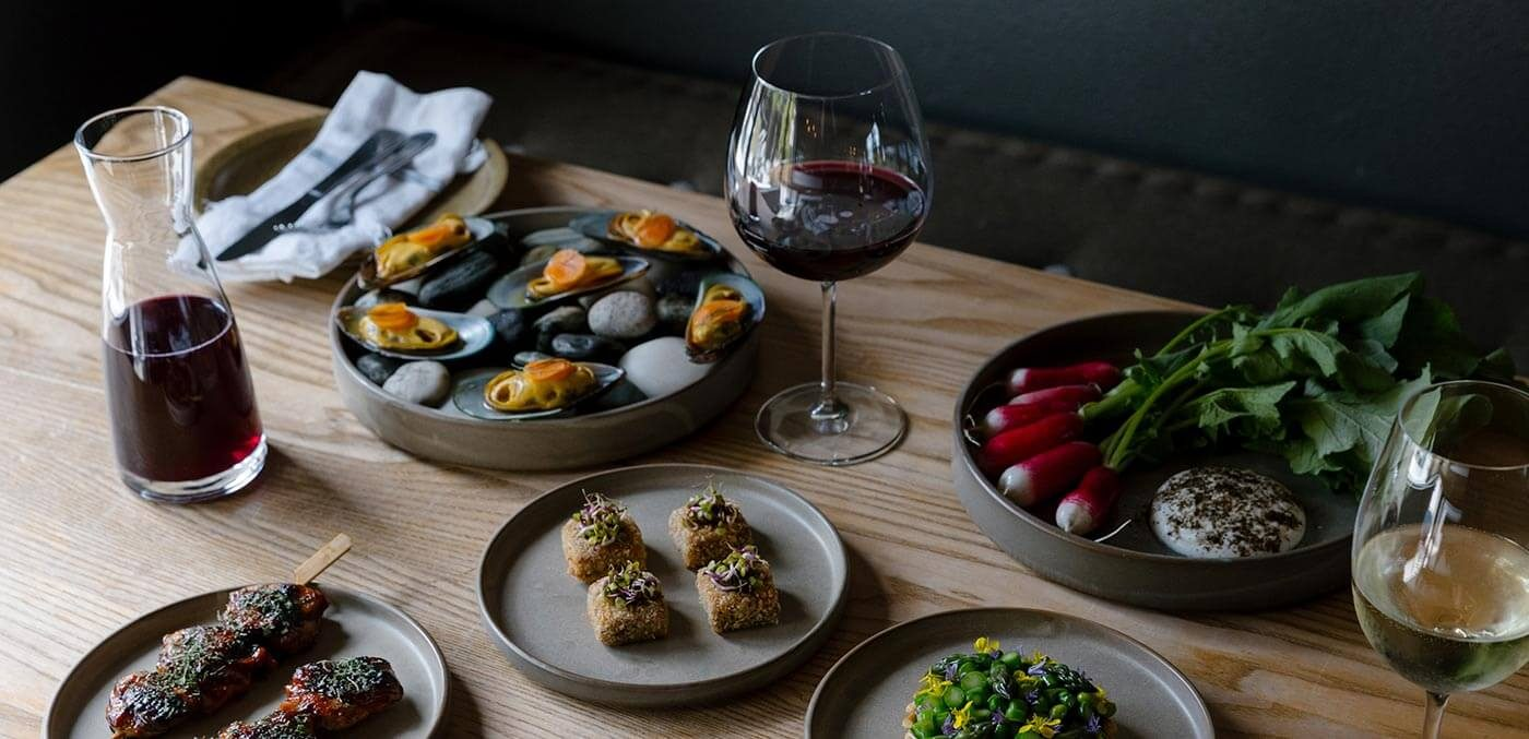 Family-style dining means share plates aplenty at Sherwood