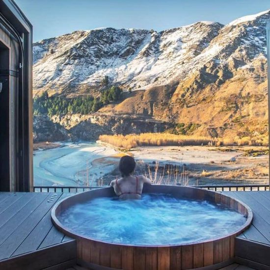 Spa days don't get much better than those spent soaking at Onsen Hot Pools