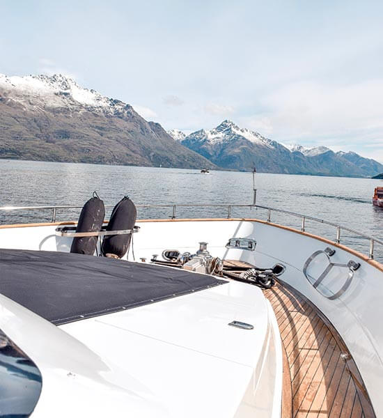 The ultimate day out exploring Lake Wakatipu on Pacific Jemm