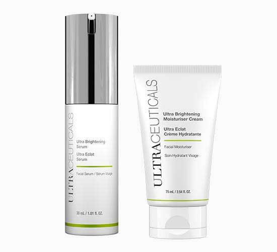 Ultraceuticals Ultra Brightening Serum/Ultra Brightening Moisturiser Cream