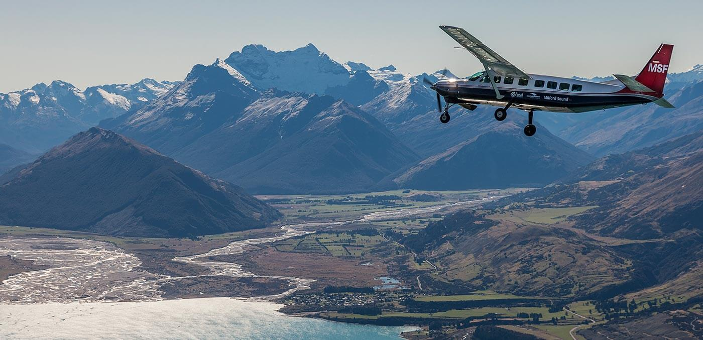 Queenstown adventure activities -Views for days with Milford Sound Scenic Flights