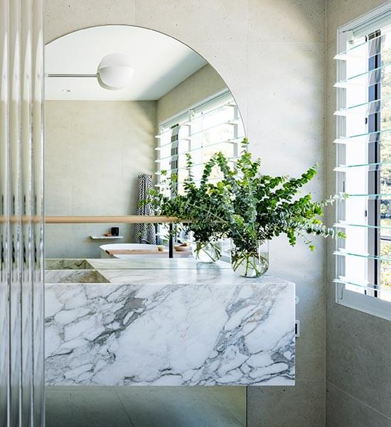 Bathroom at Calabash Bay Lodge