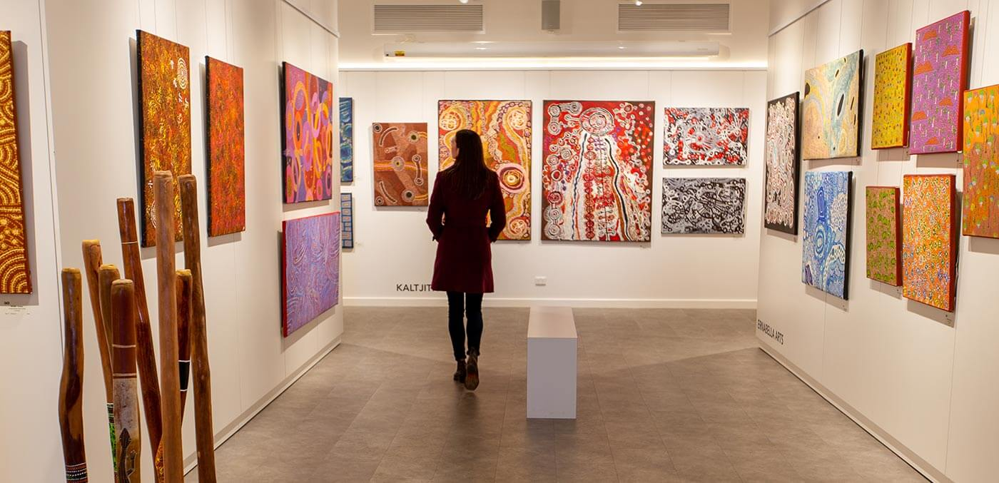 Inside the Gallery of Central Australia