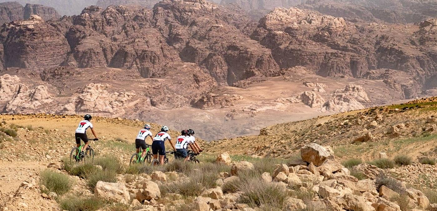 Riding into Jordan's dramatic canyons