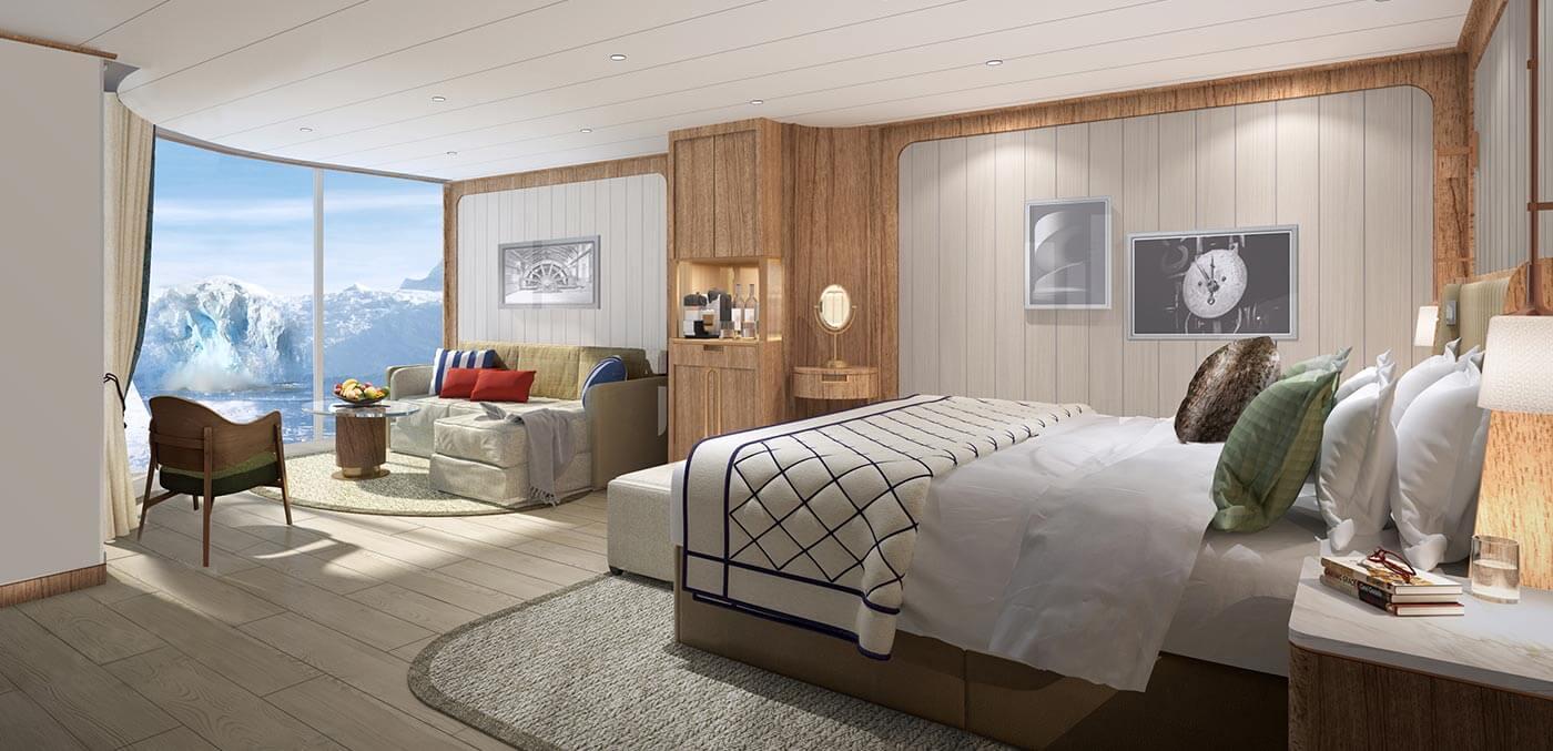 Seabourn Venture's Panorama Veranda Suite