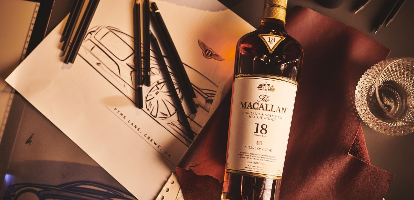 The Macallan Bentley collaboration