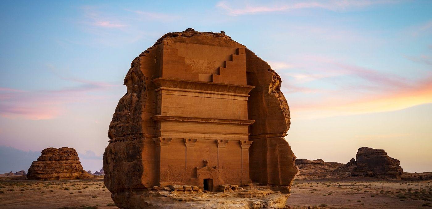 Hegra in AlUla Saudi Arabia