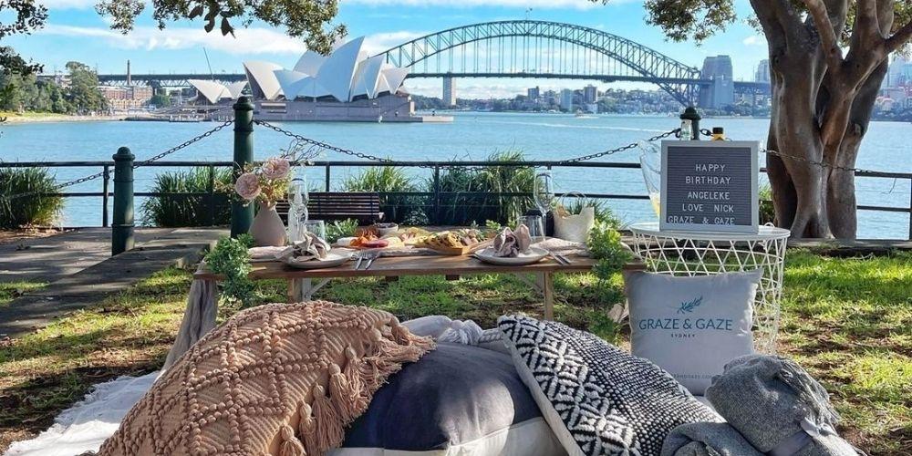 Graze and Gaze luxury picnics
