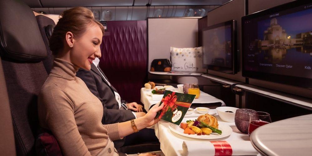 Qatar Airways onboard best airline