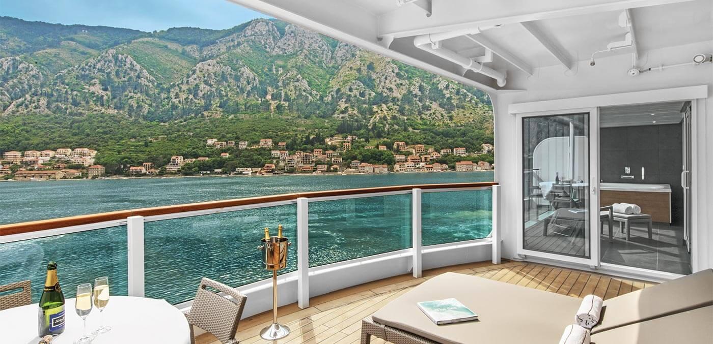 Wintergarden Suite onboard Seabourn Ovation