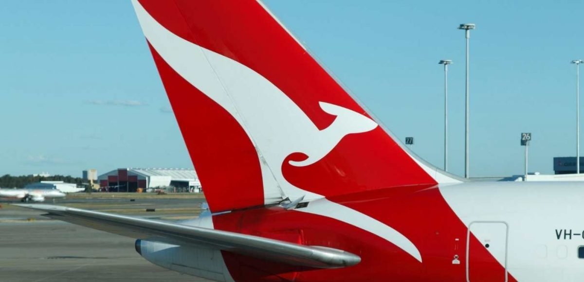 qantas international flights